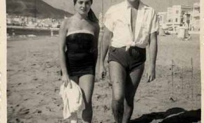 El matrimonio Lezcano en 1954.