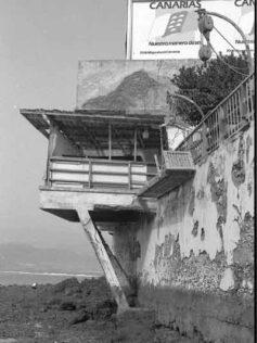 Las desaparecidas casas de La Puntilla.