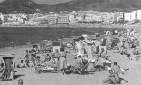 Las Canteras en 1963