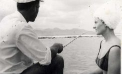 Momo pescando guiris