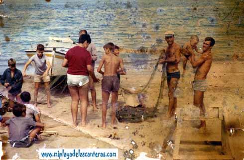 estampa pescadores