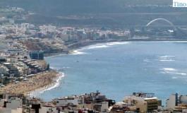 la playa desde el Vigía