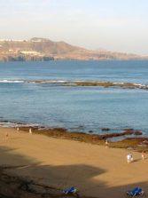 La playa temprano