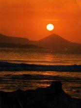 Puesta de sol desde El Cabezón