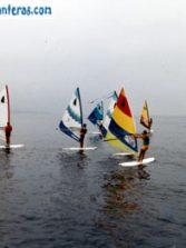 Los comienzos del windsurf en la playa de Las Canteras por Melo Gómez