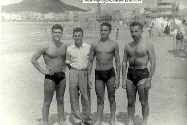 Fermin, Luis, Manolo y Tony 1952-colecc. Antonio Quevedo