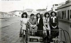 Emilio Delisau, Esther, Ofelia. Berta y Amalia en el 49