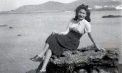 Esther Suárez en el Peñon