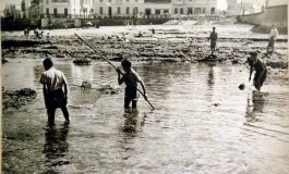 Playa Chica hace algunos años-colecc.Francisco Padilla