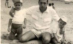 Felix Ramirez con Jacinto y Fae