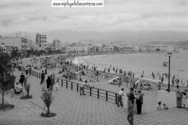 La Playa Grande 1954-colecc. Fernando Hernández Gil