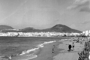 Vista desde el paterre 1960-colecc. Fernando Hernández Gil