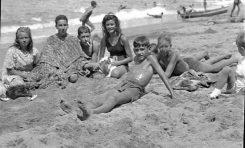 Ana Maria Gómez, Rafael Masanet, Ignacio Bethencourt, Carmen y José Maria Ley en el 44