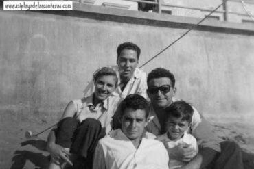 Los hermanos Bello, Vicente García, etc.. en 1950
