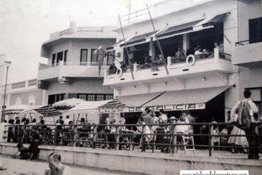La Casa de Galicia, en el n° 11 del Paseo de Las Canteras. 1958