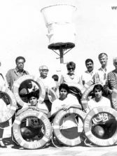 14 de septiembre de 1974: primer día de la Cruz Roja en Las Canteras