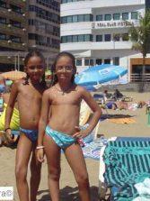 Samira la sirena y su amiga