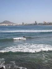 remontando las olas...