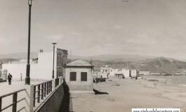 La playa por Punta Brava hace 50 años-colecc Marion Cavani