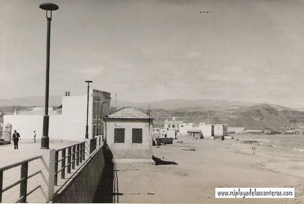 Una visión hacia Punta Brava en los años cincuenta