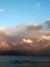 Lluvía en el horizonte
