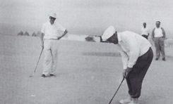 Lomo del Polvo, el último putt en la vida del campo- Cedida por el Museo del Golf. José Rivero
