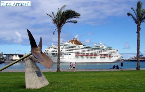 Siete cruceros animan el fin de semana en Las Palmas de Gran Canaria