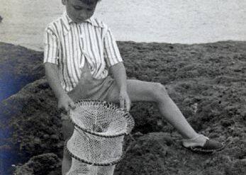 Gonzalo Melián pescando cabozos en la Barra
