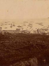 1947, incendio en el polvorín de La Isleta