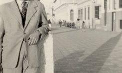 Manolo Monteiro de pose en 1948