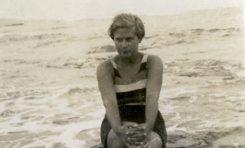 Rosi Parellada en el verano de 1932-colecc. Familia Parellada