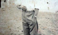 1935-Jerónimo Perdomo en la playa de Las Canteras-colecc. Antonio Perdomo