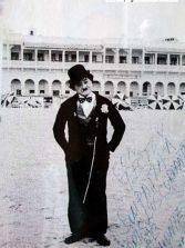 Santiago García, el recordado Charlot, en Las Canteras