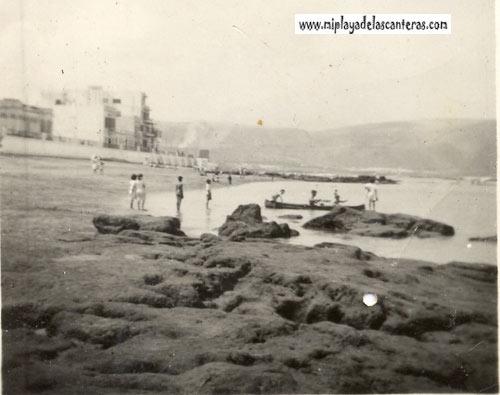 Las desaparecidas rocas de la Playa Grande
