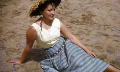 Mª Cristina Álvarez-septiembre 1954-colecc. Juan Melián
