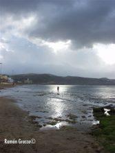 La playa al caer la tarde