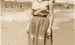 Elena Santana Auyanet en la década de los 50
