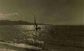 Snipe navegando en los años 50