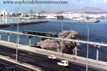 El tren invertebrado supermoderno que quería unir el Puerto con Maspalomas-nunca funciono-sobre 1968