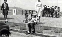 Totoyo con Mely Martín y sus hijos Yuri y Selena en 1964- colecc Yuri Millares