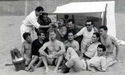 La pandilla del Chanchullo, entre otros: Expedito, Tano, Angulo, El Foca, Pey, Manolo, Pepe Ruiz, Pepe Mederos, Andrés, Juanito el caballa, Emilio, Ñito-1946-