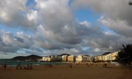 Preciosas nubes para una maravillosa playa