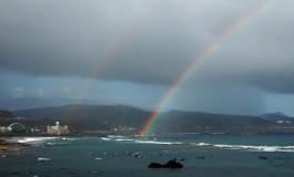 miplayadelascanteras.com les dedica a todos ustedes el primer arco iris tras el verano, feliz otoño a tod@s