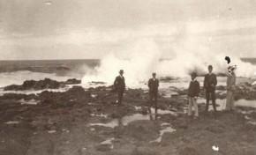 Punta Salinas en El Confital a principios del siglo pasado