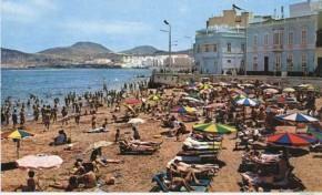 La Playa Chica en los setenta