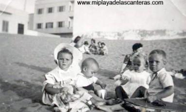 Playa Chica en 1947