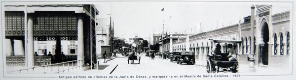 1926. Muelle Santa Catalina
