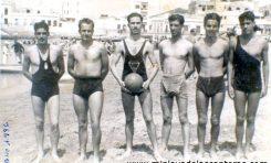 Equipo de waterpolo del Club PALA. 1936