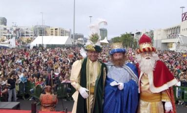 Los Reyes Magos ya están en la ciudad ¡¡¡¡.
