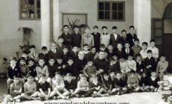 Foto del Colegio Franciscano de la calle Padre Cueto, sobre 1960. colecc. Familia Herrera.